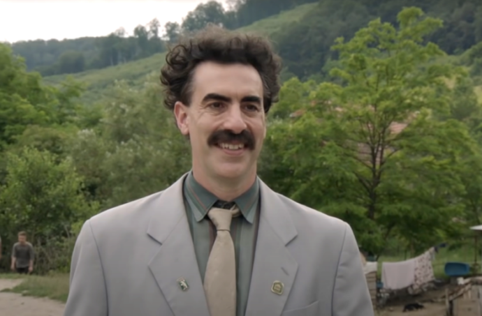 """Image from """"Borat Subsequent Moviefilm"""". Courtesy of Amazon"""