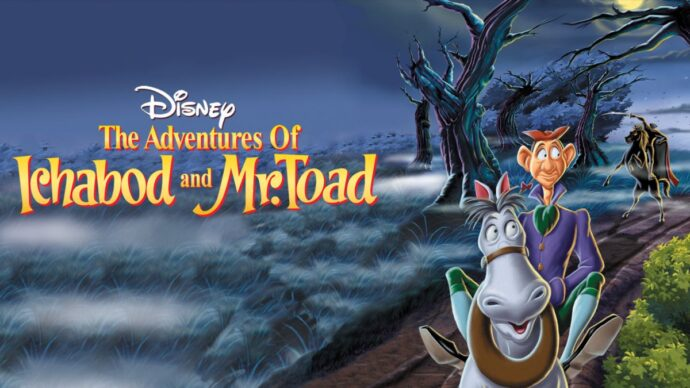 """Image from """"The Adventures of Ichabod and Mr. Toad"""". Courtesy of Disney"""